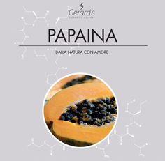 La Papaina è un enzima vegetale ricavato dal succo fresco della Papaya. Lo sapevi che è usato nei prodotti che rallentano la ricrescita del pelo?  #nature is #inspiring  #natura è #ispirazione #beauty #bellezza #papaina #papaya #gerards #cosmeticculture
