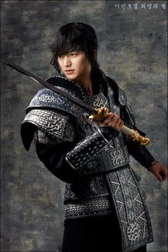 Lee Min Ho in Faith- if i meet a man this hot i would stay in the past too....Got to watch the show to get what im talking about.lol