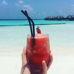Deutscher Blogartikel über die Malediven <3 #maldives #malediven #luxury #strawberry #Cocktail #paradise #constancehalaveli Constance Halaveli, Moscow Mule Mugs, Cocktail, Tableware, Paradise On Earth, The Maldives, Destinations, Dinnerware, Dishes