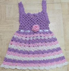 Craft Passions: CROCHET FREE PATTERN  DRESS  THIS BLOG AND THE P...