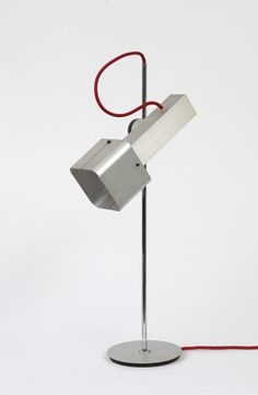 Etienne Fermigier-(1932-1973)  Lampe de bureau Ed. Monix
