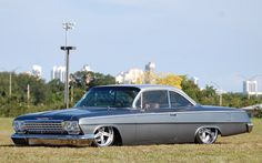 1962 Chevrolet Bel Air Maintenance of old vehicles: the material for new cogs/casters/gears/pads could be cast polyamide which I (Cast polyamide) can produce Chevrolet Bel Air, Chevrolet Chevelle, Pontiac Gto, Best Muscle Cars, American Muscle Cars, Rat Rods, Street Racing, Chevy Impala, Custom Cars