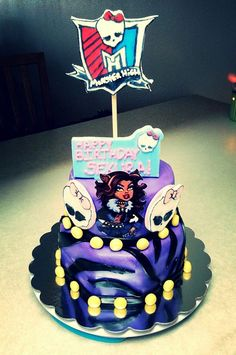 Monster high cake  https://www.facebook.com/pages/Party-Cakes/166372133386137