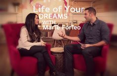 Life coach and founder of B School Marie Forleo sits down with Lewis Howes to cover how she created her incredible, soul-driven entrepreneurial empire. Marie Forleo, Self Employment, Building A Business, Inspirational Videos, Work Inspiration, Ted Talks, Business Women, Dreaming Of You, Interview