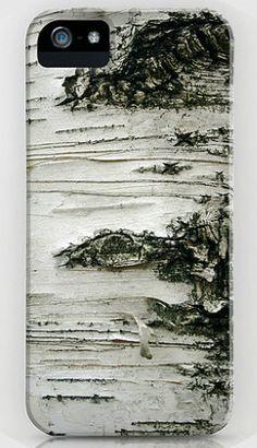 Love this birch tree iPhone case | SeptemberWren @Etsy