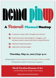 IN OUR COMMUNITY: Register to attend the NCMA Pinup on May 10, 2012!   via @raleighwhatsup
