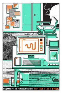 Weiskamp Poster | Matthew Harlan