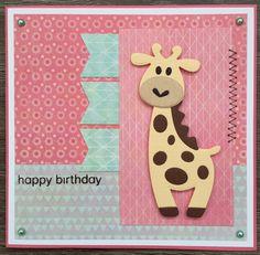 LindaCrea: Eline's Beestenboel #14 - Girafje
