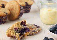 Gluten-Free Whole Grain Blueberry Muffins