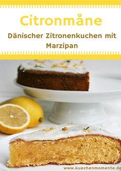 Einfach und schnell zubereitet! Diesen Kuchenklassiker aus Dänemark solltet ihr unbedingt ausprobieren! #rezept #zitronenkuchen #lemonmooncake