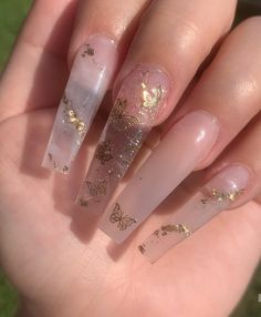 Cute Acrylic Nail Designs, Simple Acrylic Nails, Best Acrylic Nails, Summer Acrylic Nails, Spring Nails, Summer Nails, Winter Nails, Nail Swag, Nagel Bling