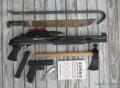 Basic Zombie weapons