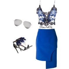 Untitled #35 by glamandcity on Polyvore featuring polyvore, fashion, style, Roberto Cavalli, Jacquemus, MSGM and Victoria Beckham