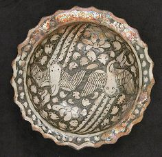 Plate with Phoenixes first half century Geography: Iran Ancient Persian, Ancient Egyptian Art, Ancient Aliens, Ancient Greece, Ancient History, Turquoise Accents, Iranian Art, Ancient Artifacts, Historia