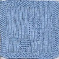 Sixteenth Note Knit Dishcloth Pattern More