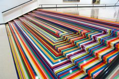 Tape art opens up new worlds of colors as artists intuitively find ways to use…