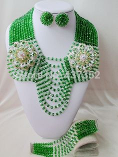 Find More Jewelry Sets Information about Gorgeous! Green mixed clear AB Crystal Beads Nigerian wedding african beads jewelry set costume jewelry set AAC079,High Quality jewelry mold,China jewelry asia Suppliers, Cheap jewelry clip art free from Alisa's Jewelry DIY Store on Aliexpress.com
