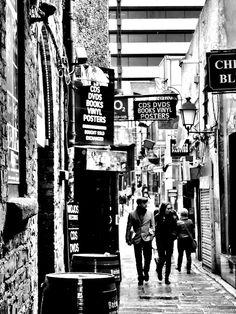 In between the alleys of Dublin. Vinyl Poster, Dublin City, Book Posters, Dublin Ireland, Old Photos, Past, Emerald, Irish, Heaven