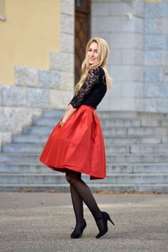 How to Wear Your Midi Skirt This Winter – Fashion Style Magazine - Page 24