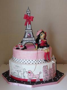 Promenade in Paris - by serena70 @ CakesDecor.com - cake decorating website