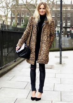 Why yes I am obsessed with vintage leopard coats, why do you ask?