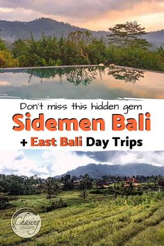 Discover the beautiful Sidemen Valley in East Bali one of the true hidden gems in Bali Indonesia. Our guide covers everything from rice fields stunning views and infinity pools to markets temples artisans and day trips to East Bali. Travel Checklist, Travel Tips, Travel Destinations, Travel Guides, Travel Route, Bali Travel, Infinity Pools, Places Around The World, Brunei