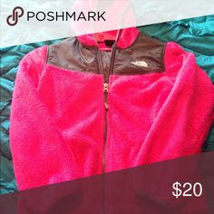The North Face. Hot pink girl's jacket. Very soft and perfect for spring. The North Face Jackets & Coats