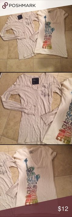 """$9 aeo top lot Excellent condition! ✔The price in the beginning of the title of my listings is the bundle price. These prices are valid through the """"make an offer"""" feature after you create a bundle. These bundle orders must be over $15. Ask me about more details if interested.  ❌No trades ❌No holds American Eagle Outfitters Tops"""