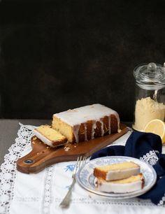 Lemon Polenta Cake – Gluten Free (+ Video)
