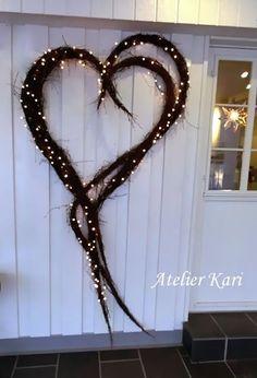 Gorgeous wreath - Atelier Kari naturdekorasjoner og kranser: Karis Julekalender - Luke 15