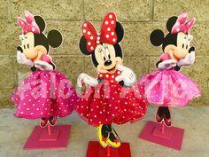 Minnie Mouse Tutu Birthday Decoration Tutu pink OR by FalconArte
