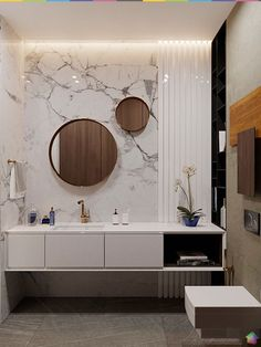 Give a stunning makeover to your bathroom vanities with these amazing Bathroom Remodel DIY Ideas, diy small bathroom and diy bathroom projects. Read More » #vanities #remodel #bathroom #sink