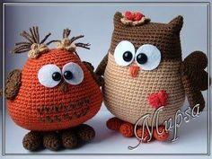 22 ideas for crochet amigurumi owl free knitting patterns Crochet Animal Hats, Crochet Birds, Crochet Flower Patterns, Cute Crochet, Crochet Baby, Owl Patterns, Owl Knitting Pattern, Knitting Patterns Free, Free Knitting