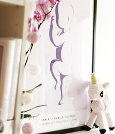 Norwegian blogger, Mote Silje shared this lovely picture of her daughter  Ella´s birthposter <3