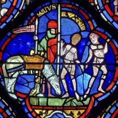 Zodiac and labours of the months stained glass window, Chartres cathedral, France Medieval Stained Glass, Stained Glass Angel, Stained Glass Windows, Arte Latina, L'art Du Vitrail, Wine Bottle Wall, Wine Bottles, Jean Yves, Crushed Glass