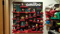 Custom Amiibo Video Game Shelf