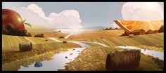 ArtStation - Visual Dev work for a Kellogg's Commercial , Patrick O'Keefe