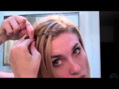 Waterfall Braid Tutorial Hairstyles For Medium Hair & Hairstyles For Long   http://hairstylecollections.blogspot.com