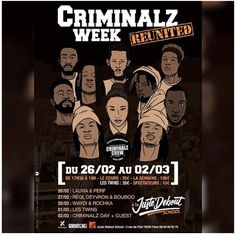 Ok ? D'accord ? Voilà   ✅➡️ #Criminalzweek is back .... 26.2. - 2.3.2018 JUSTE DEBOUT SCHOOL - PAGE OFFICIELLE CRIMINALZ CREW (1.3. - Les Twins ) #criminalz #CriminalzWeek2018 #Reunited #JusteDeboutSchool #Paris✅