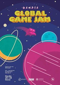 Poster showcase 2018 | Global Game Jam® Poster Creator, The Creator, Tutorials, Social Media, Graphic Design, Cookies, Drawing, Game, Inspiration