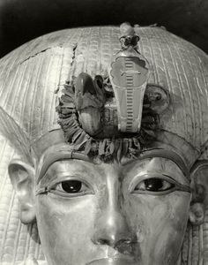 Face of the Outermost Coffin of Tutankhamun Spring 1926