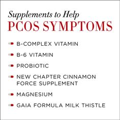 How to treat polycystic ovary syndrome naturally—through nutrition, supplements and exercise.