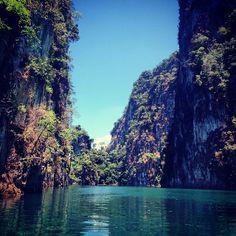 Khao Sok National Park in พนม, จังหวัดสุราษฎร์ธานี Beautiful!