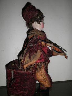 Antique Doll Automaton with Music Box | eBay