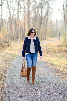 How to Wear Over-the-Knee Boots for Fall