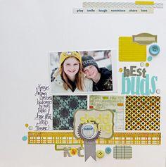 nice grid-style layout by Megan Klauer