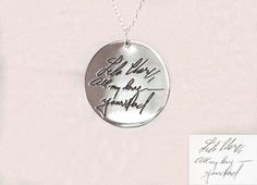 20% OFF Engraved Signature Disc Actual by CaitlynMinimalist