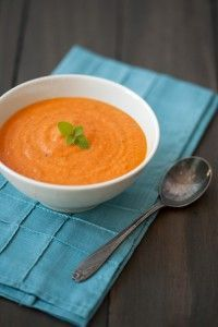 Fresh Tomato Soup with Mascarpone | Love and Olive Oil