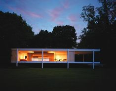 Always classic Mies van der Rohe Farnsworth House. Born this day (March 27) in 1886. #architecture