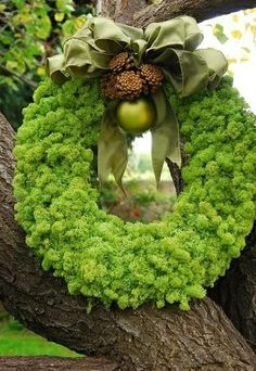 Simple but lush wreath